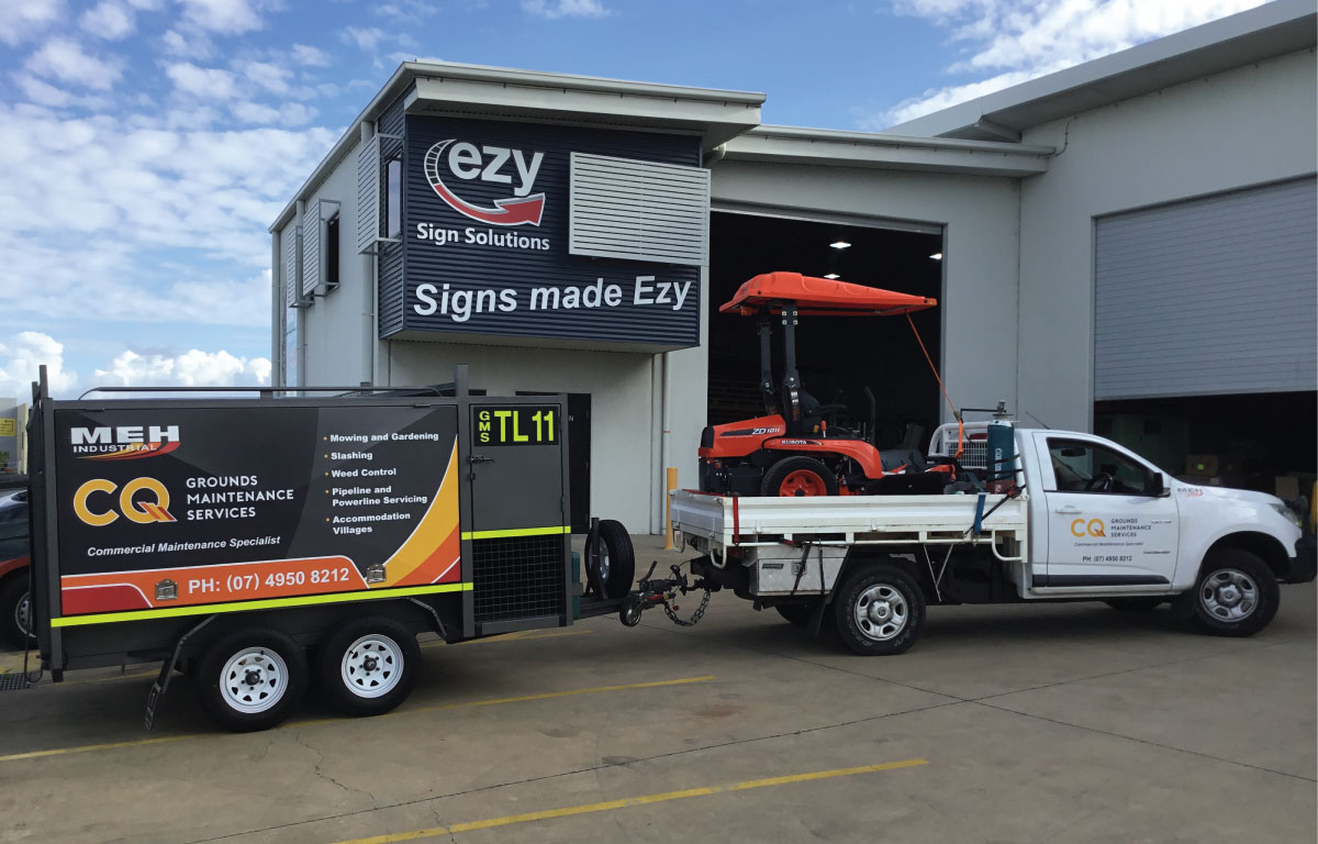 Trailer Signage Advertising Moranbah